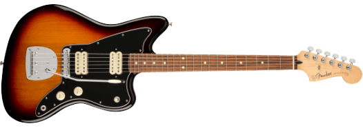 Fender Player Jazzmaster Pau Ferro Fingerboard 3-Color Sunburst
