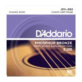 Daddario EJ26 Akustikgitarrensaiten 011-052