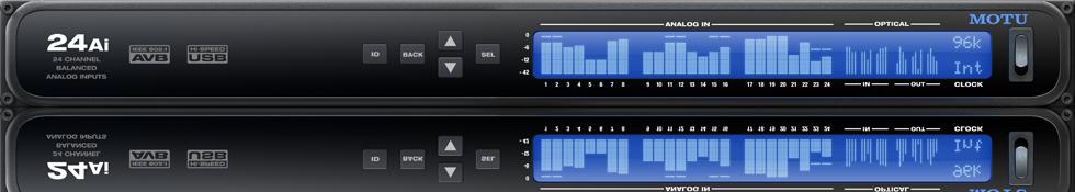 Motu 24Ai AVB Audiointerface