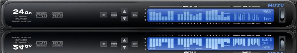 Motu 24Ao AVB Audiointerface