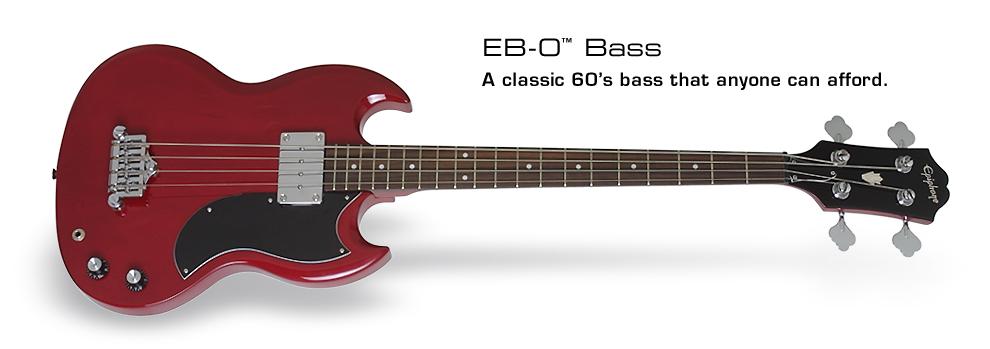 Epiphone EB0 Bass 1 PU Cherry