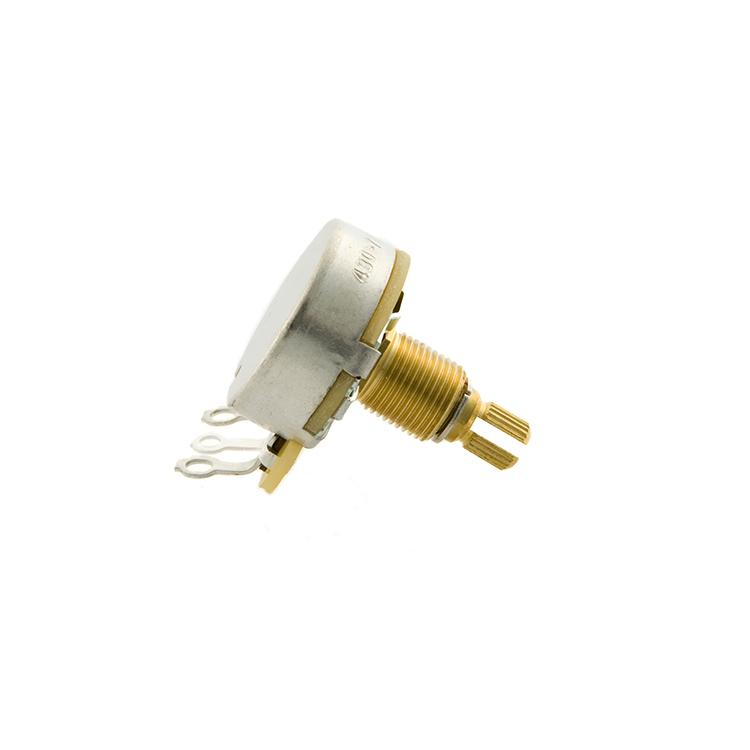 Gibson Hist. Spec 500k Ohm Audio Taper Short Shaft