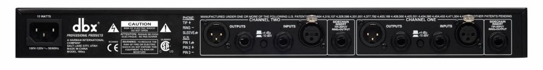 dbx 166XS 2-Kanal Kompressor, Limiter, Expander und Gate