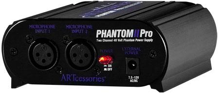 ART Phantom 2 Pro Two Channel 48 Volt Phantom Power