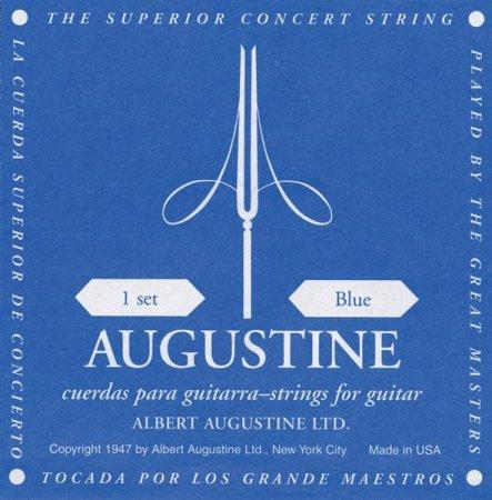Augustine 6th E Einzelsaite Nylon Blau