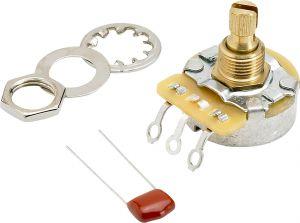 Fender 250K No-Load Split Shaft Potentiometer (Vol. or Tone)