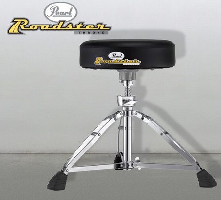 Pearl D-1000SN Drum Throne with Round Seat, Short