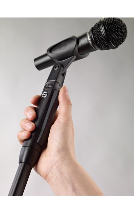 K&M 26200 Einhand-Mikrofonstativ »Elegance« schwarz