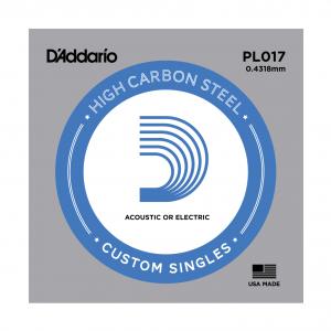 Daddario PL017 Einzelsaite Steel