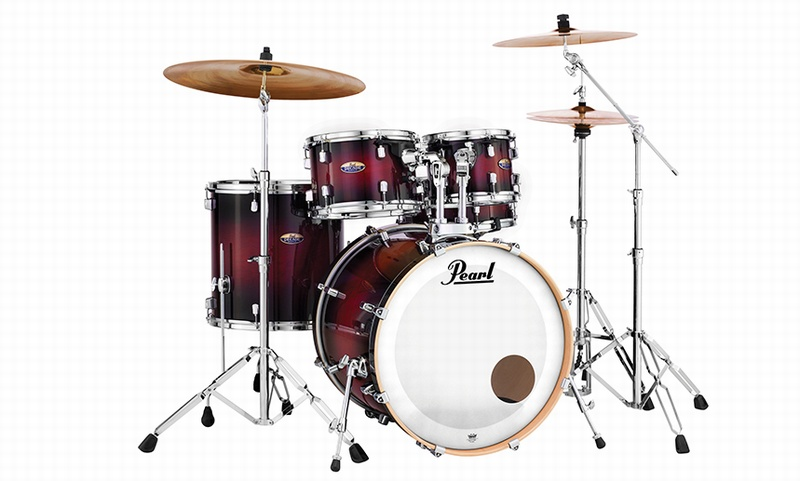 Pearl Decade DMP905P/C-227 Maple Drumset Satin Slate Black inkl. HW