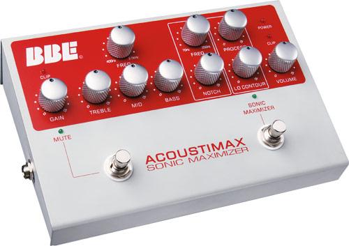 BBE Acoustimax Akustik Preamp für Live und Recording