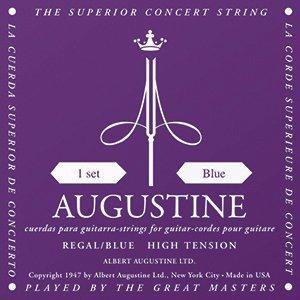 Augustine Gitarre Saiten Satz Regal Blue