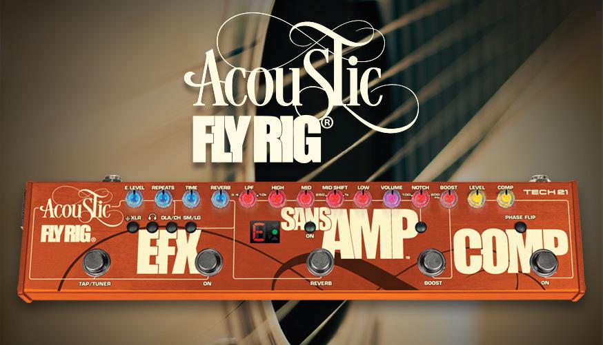 Tech21 FlyRig Acoustic Multieffekt für akustische Gitarre