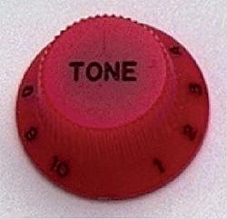 Allparts PK 0153-026 Knöpfe Strat Tone (2) rot