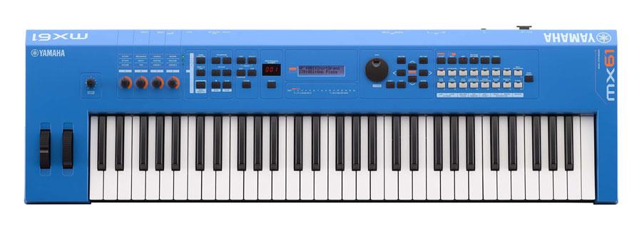 Yamaha MX61V2 Blau Synthesizer