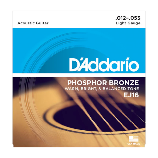 Daddario EJ16 Akustikgitarrensaiten 012-053