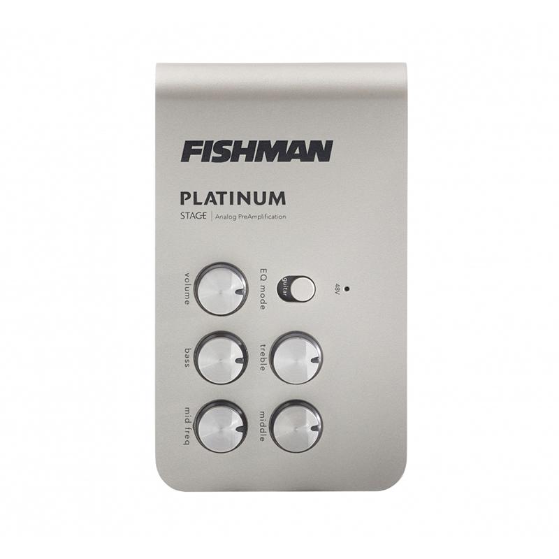 Fishman Platinum Stage Analog Preamp für Gitarre und Bass umschaltbar