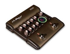 L.R.BAGGS Preamp, Venue DI, DI-Pedal, 5-Band EQ, Notch Filter, f. Akustikgitarre