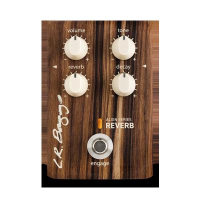 LR Baggs Effektpedal, ALIGN Reverb, Reverb-Pedal für Akustikgitarre
