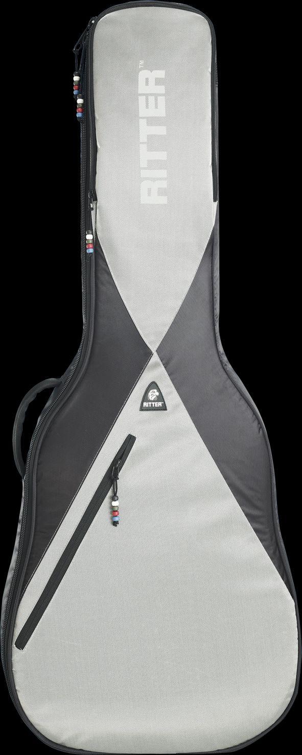 Ritter RPG5C BSG Klassik Gitarren Tasche Black Silver