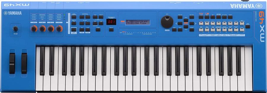 Yamaha MX49V2 Blau Synthesizer
