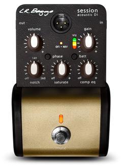 L.R.BAGGS Preamp Session DI DI-Pedal Notch Fiter für Akustikgitarre