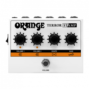 Orange Terror Stamp Röhren Hybrid Gitarrenverstärker in Pedal Format