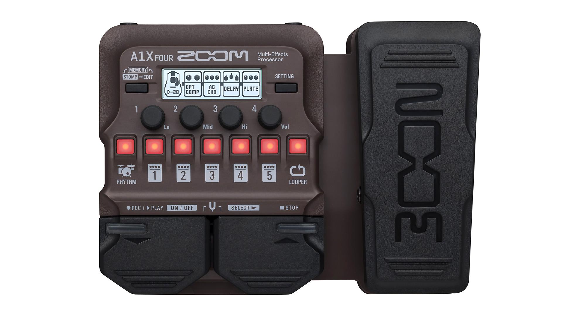 Zoom A1X Four Akustikgitarreneffektpedal