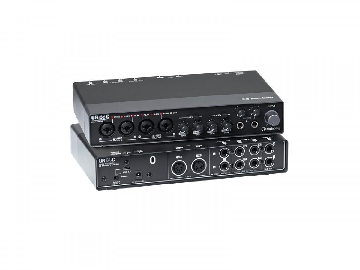 Steinberg UR44C 6 x 4 USB 3 Audio + MIDI Interface