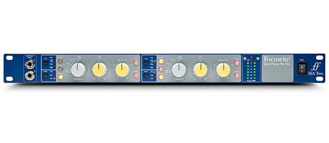 Focusrite ISA-TWO Stereo Mikrofonvorverstärker