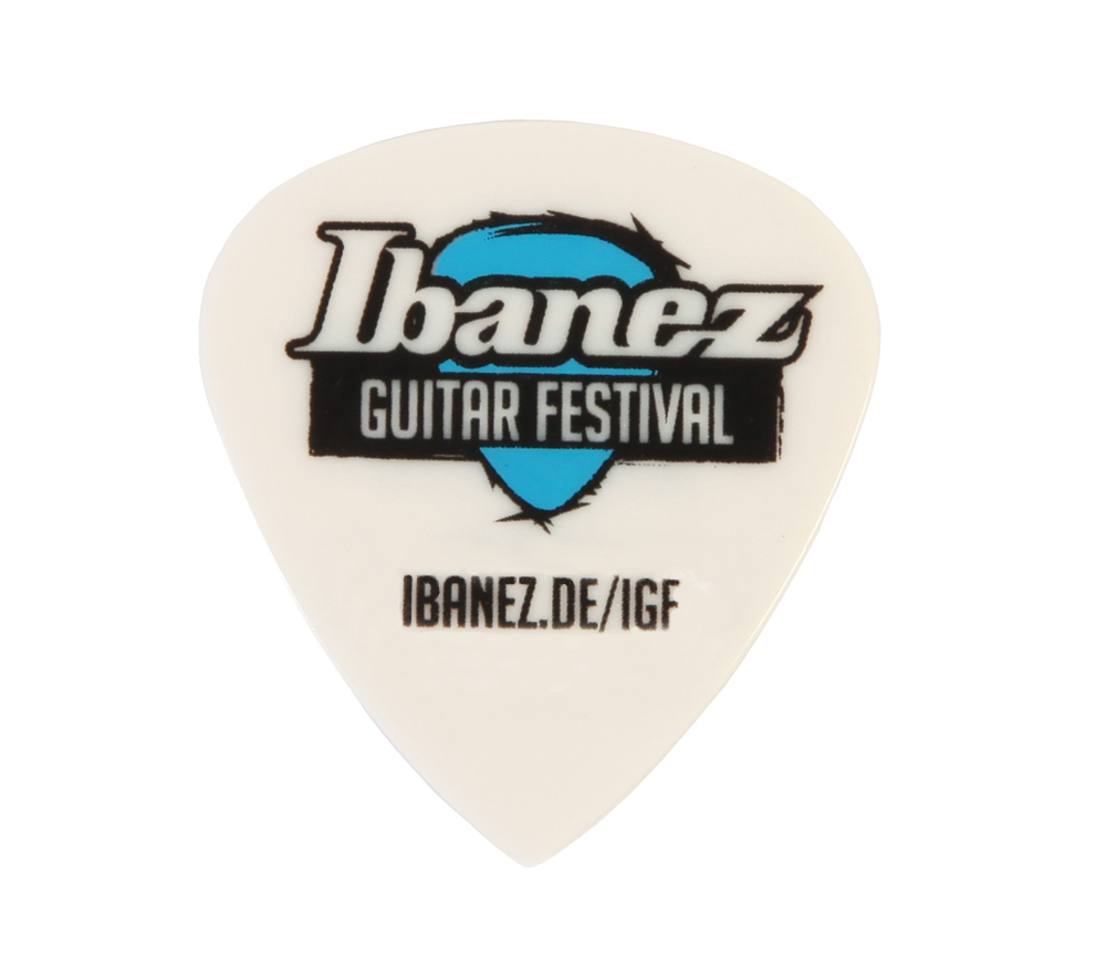 Ibanez BCE16MSF13-WH Grip Wizard Guitar Festival Picks - Limited Edition 6 St�ck Medium