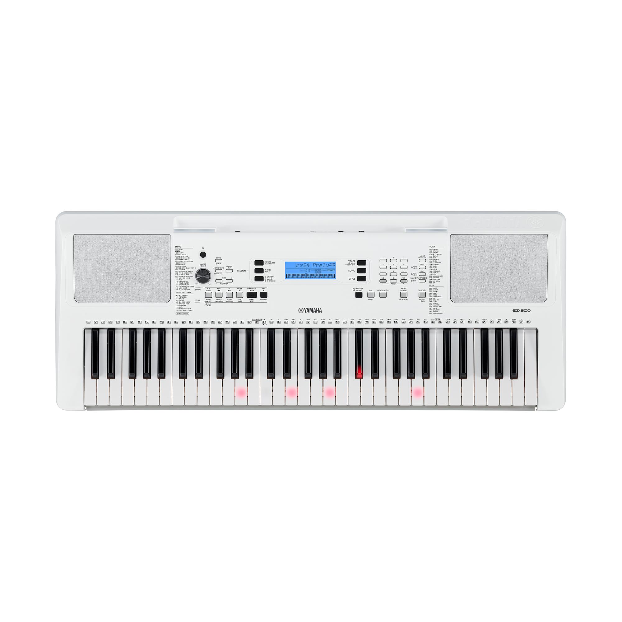 Yamaha EZ300 Keyboard mit Leuchttasten