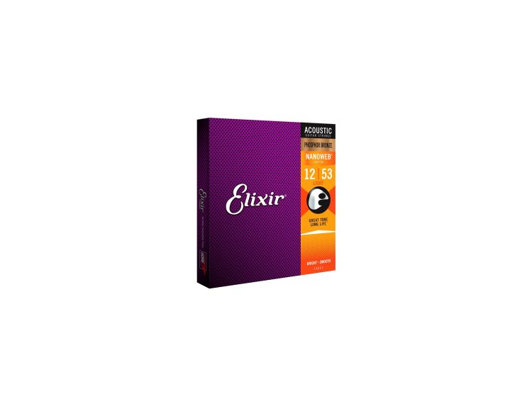 Elixir 16052 Phosphor Bronze Light 012-053