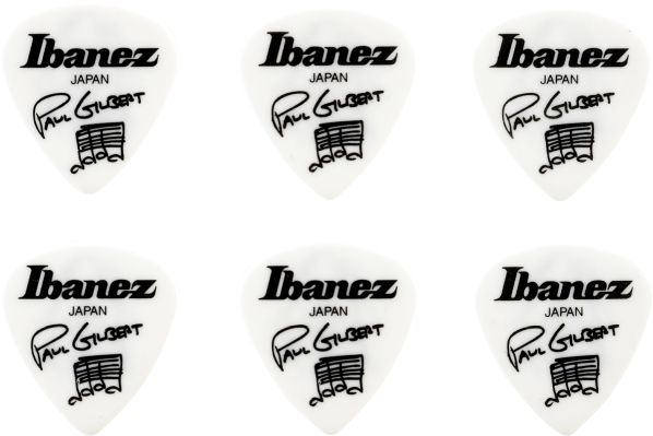 Ibanez B1000PG-WH Picks Signature Series - Paul Gilbert 6 St�ck