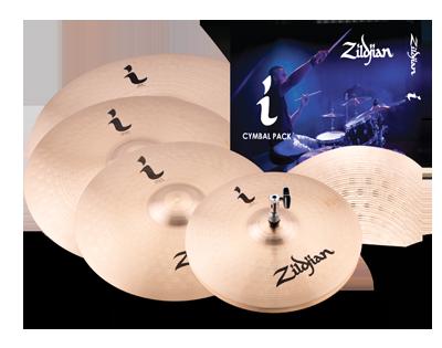 Zildjian ZIILHPRO Beckenset I Family Pro Gig Pack 14H/16C/18C/20R