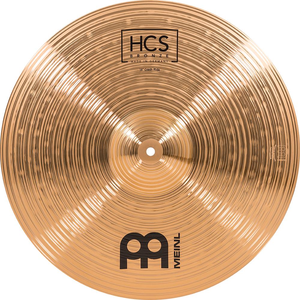 MEINL Cymbals HCS Bronze Crash Ride 18