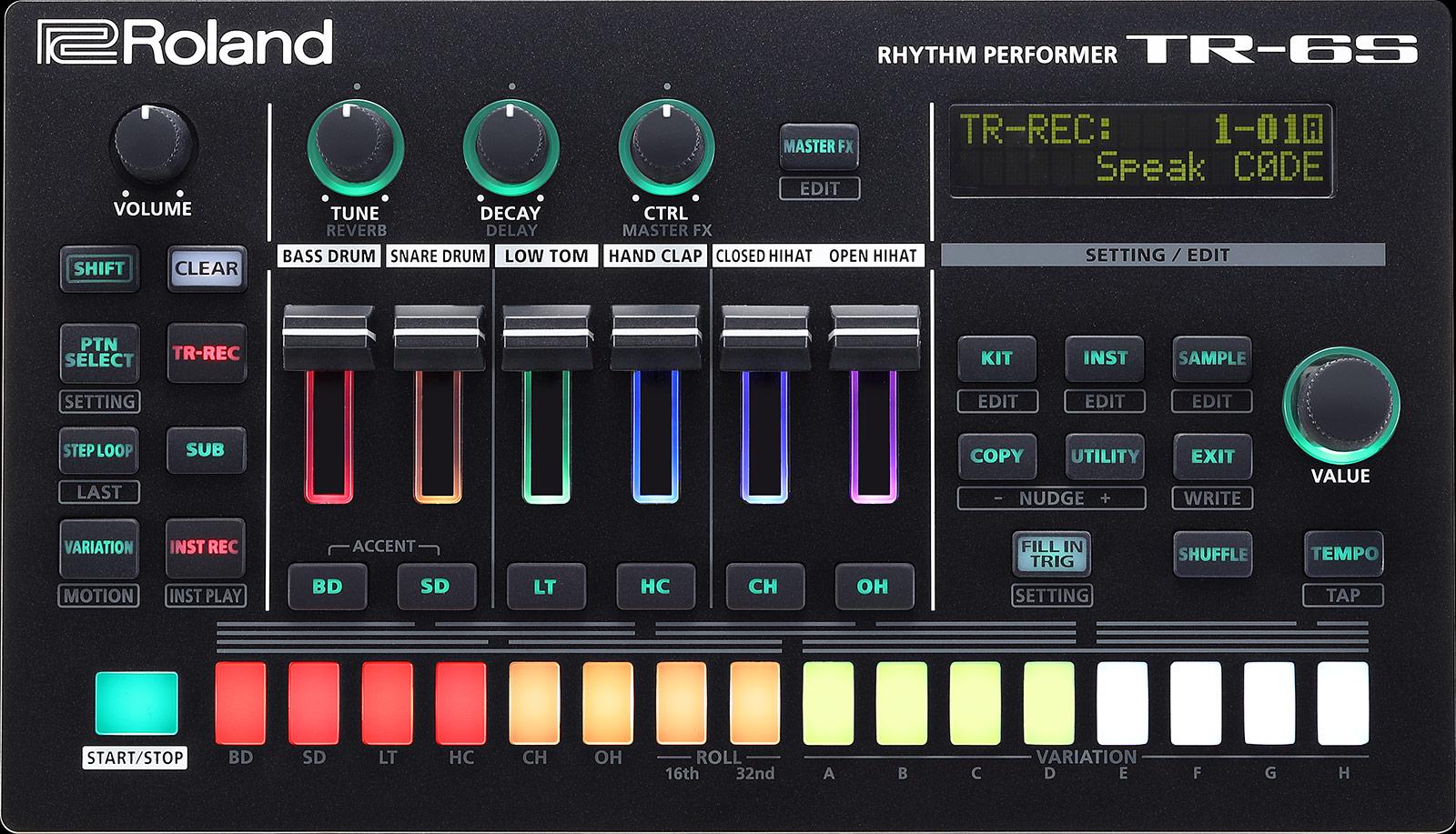Roland TR6S Drum Maschine
