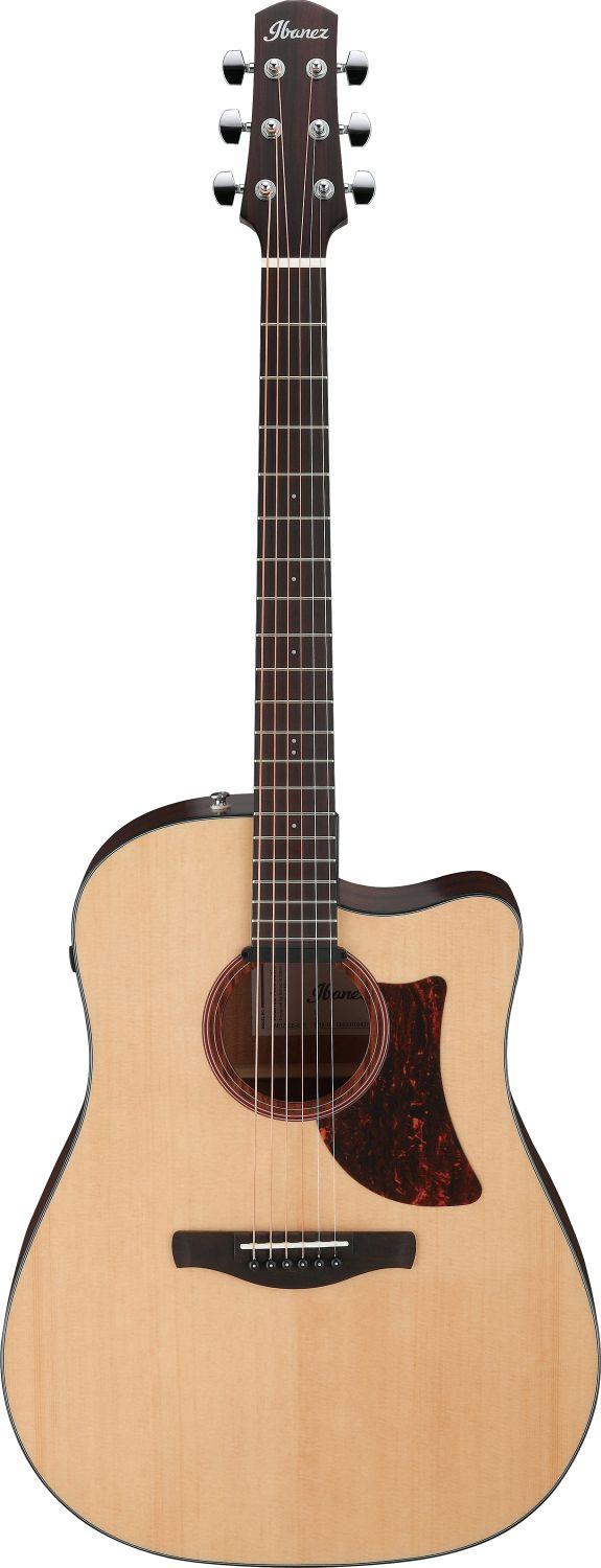 Ibanez AAD170CE-LGS Advanced Acoustic Serie Grand Dreadnought Cutaway Akustikgitarre 6 String + Preamp Natural Low Gloss