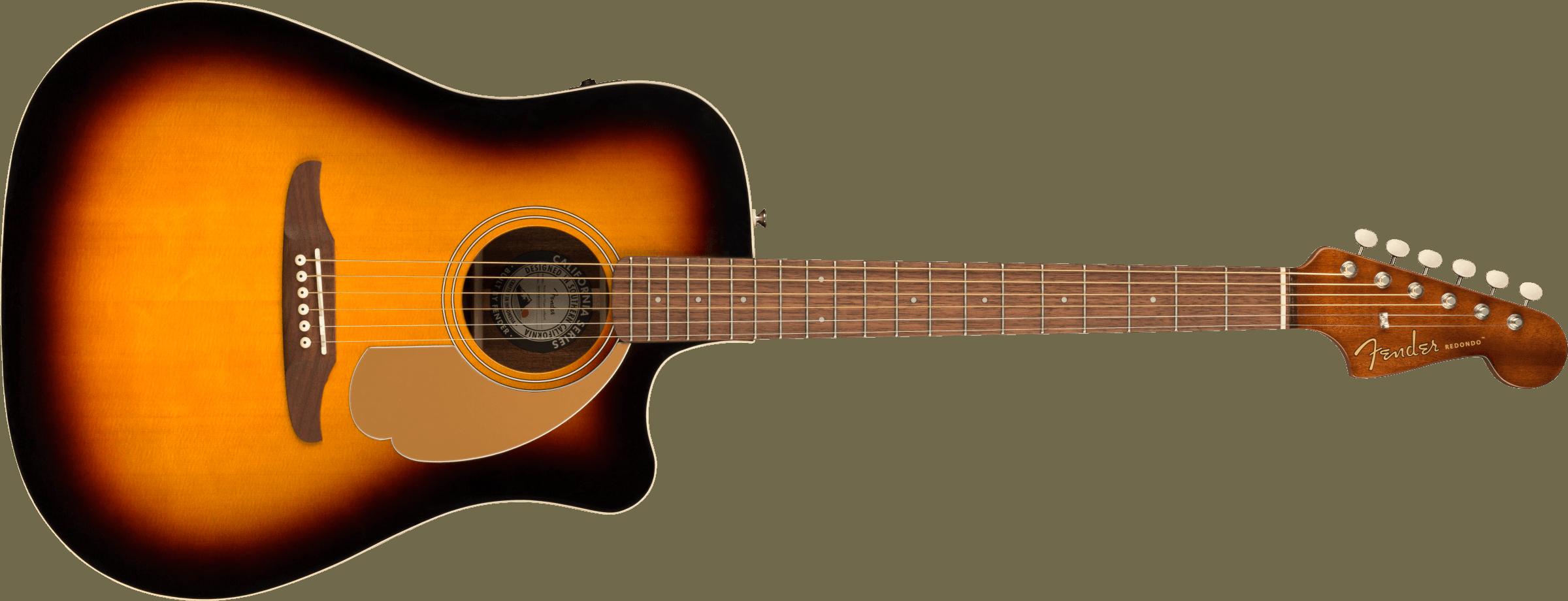 Fender Redondo Player Walnut Fingerboard Sunburst