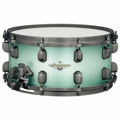 TAMA Starclassic Maple Snare Drum 14 x 6,5 Light Jade Blue Burst