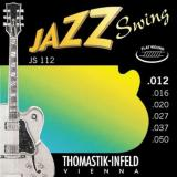 Thomastik Infeld JS112 Jazz Swing Gitarrensaiten 012er Satz Flat Wound