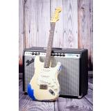 Fender Custom Shop 60 Strat Heavey Relic OLY on Mystic Blue SN: R83077