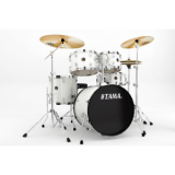Tama Drumset Rhythm Mate Chrom Hardware WH - White (RM50YH6-WH)