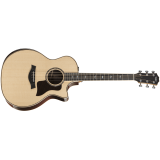 Taylor 814ce Deluxe 800 Series DLX, Select Rosewood, Sitka Spruce Top, Grand Auditorium, 6-String,  Cutaway, ES2