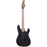 Schecter E-Gitarre, Sun Valley FR, Satin Black
