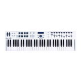 Arturia KeyLab Essentials 61 USB-MIDI-Masterkeyboard mit Softwarebundle