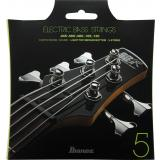 Ibanez IEBS5C Saitensatz E-Bass Nickel Wound 5-Saiter Coated Light Top Medium Bottom 45-130