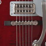 Gretsch Bridge Assembly, Adjusto-Matic™, Nickel with Ebony Base