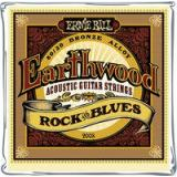 Ernie Ball EB2008 Saitensatz, Akustik, Earthwood 80/20 Bronze, Rock & Blues 10-52