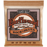 Ernie Ball EB2151 Saitensatz, Akustik, Earthwood Phosphor Bronze, Rock & Blues 10-52
